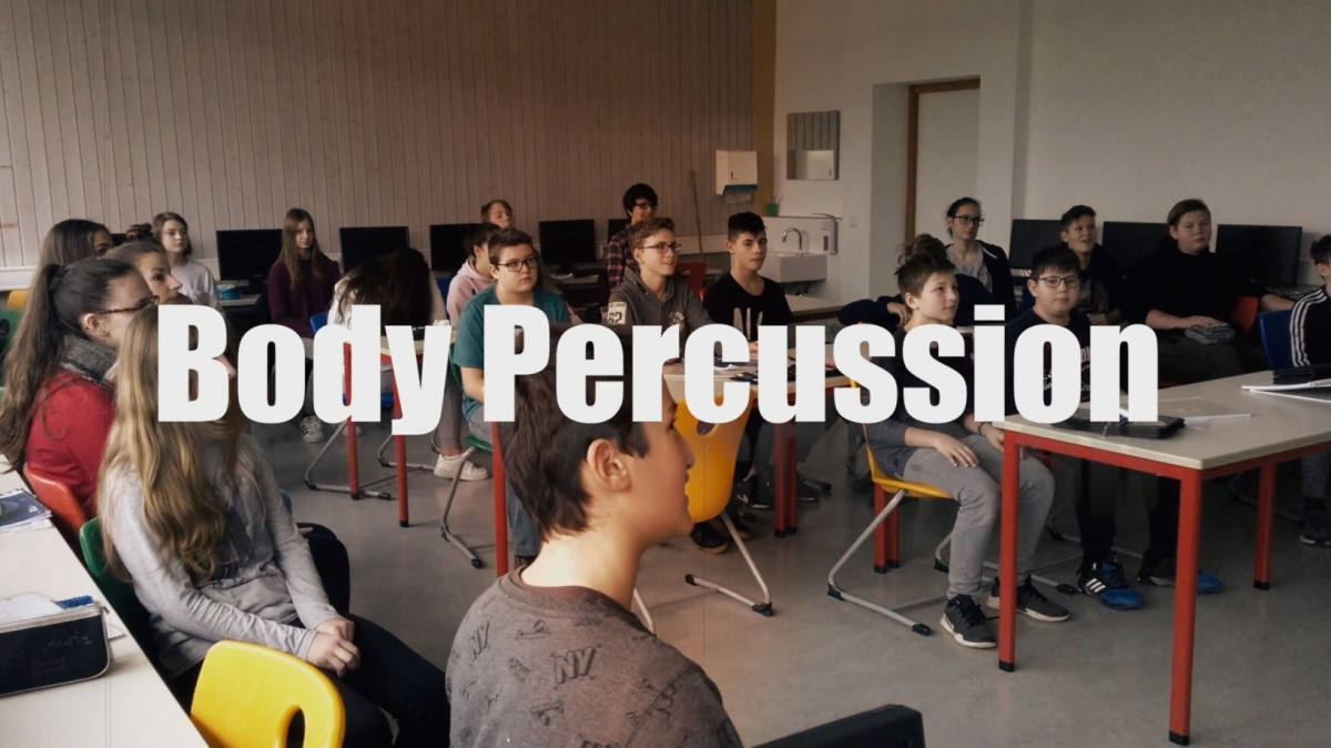 Body Percussion – our rhythm is it!